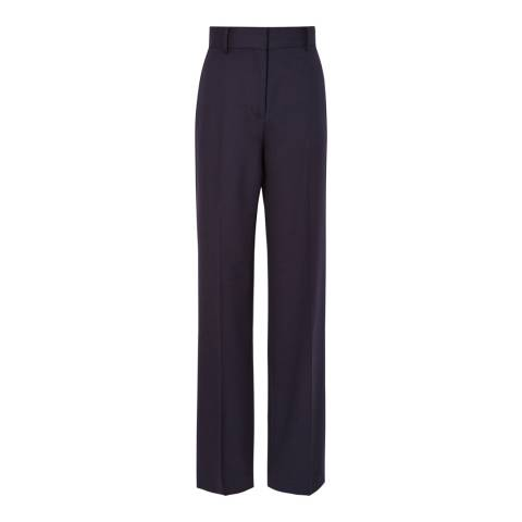 Reiss Navy Mila Stand Alone Trousers