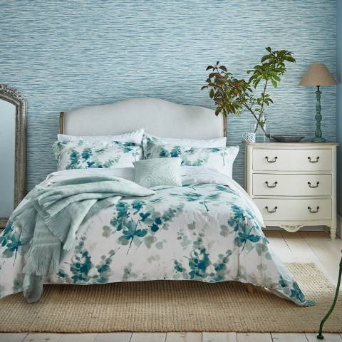 Sanderson Delphiniums Single Duvet Cover