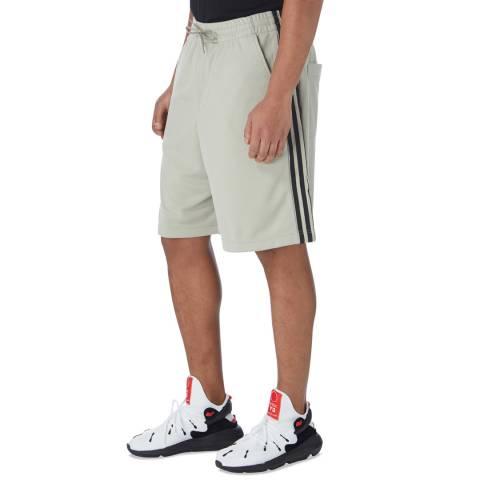 adidas Y-3 Salty Champagne 3-Stripes Shorts
