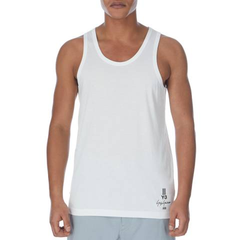 adidas Y-3 Core White Classic Tank Top