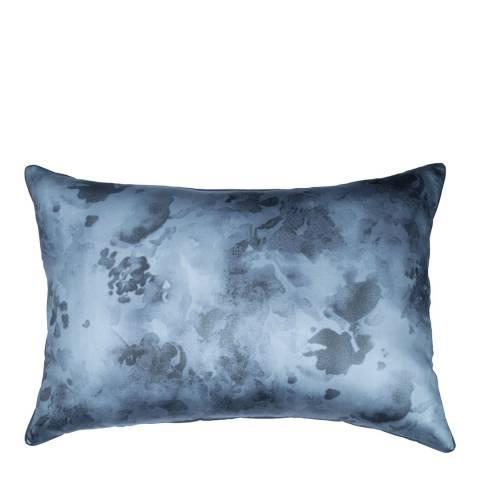 DKNY Camo Floral Housewife Pillowcase, Indigo