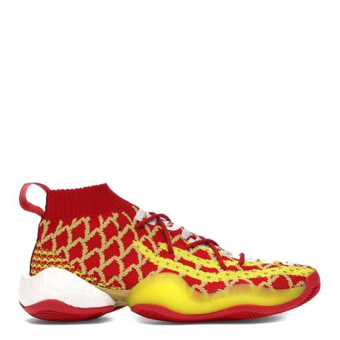 adidas x Pharrell Williams Red/Yellow Y-3 Crazy BYW Pharrell Williams Sneakers