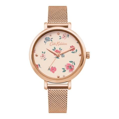 Cath Kidston Gold Brampton Mesh Bracelet Watch