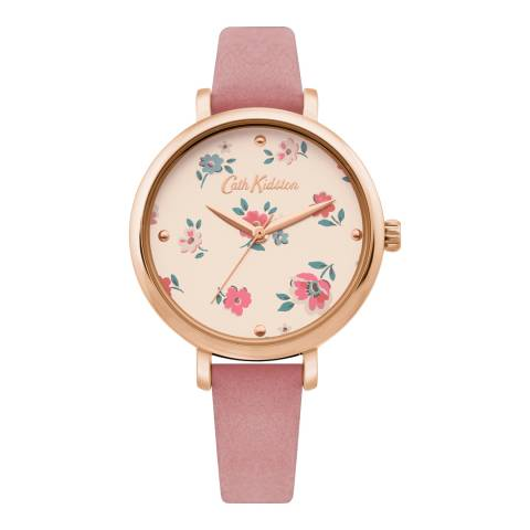 Cath Kidston Pink Ditsy Floral Face Watch