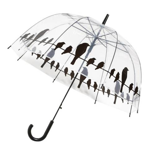 Le Monde du Parapluie Transparent Bird Birdcage Umbrella