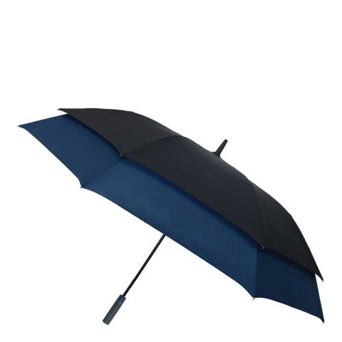 Smati Black / Navy Umbrella for Two People