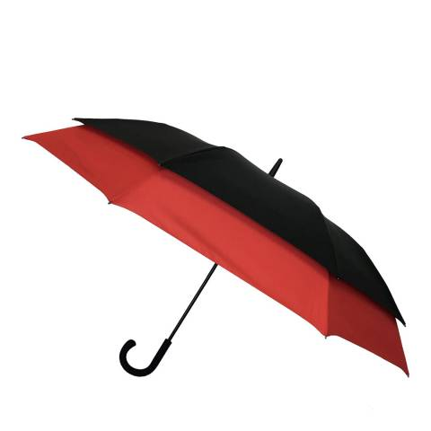 Smati Black / Red Automatic Umbrella