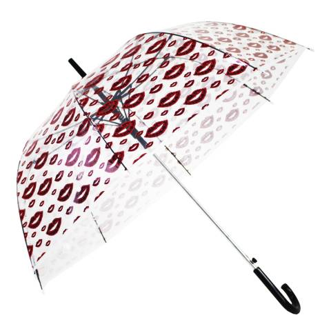 Blooms of London Transparent Lips Umbrella