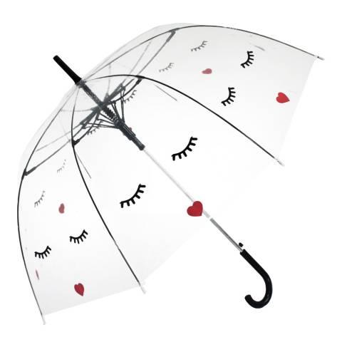 Blooms of London Transparent Face Birdcage Umbrella