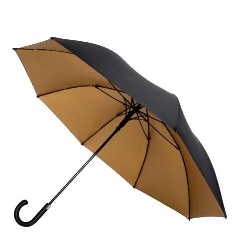 Impliva Black / Gold Golf Umbrella