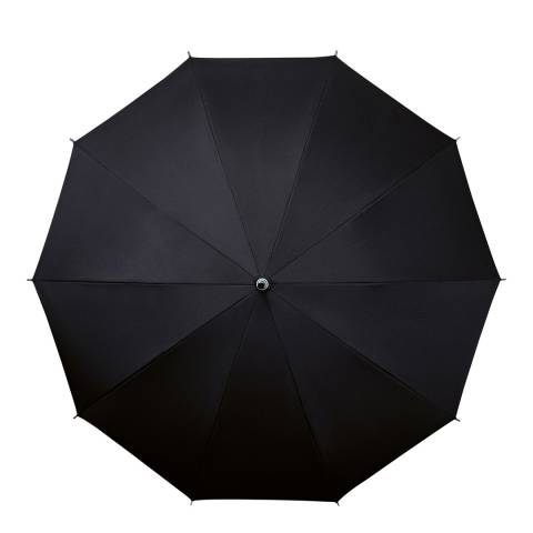 Falcone Black Umbrella with Shoulder Strap