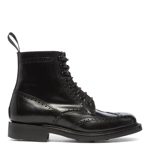 Joseph Cheaney & Sons Black Olivia Brogue Country Boots