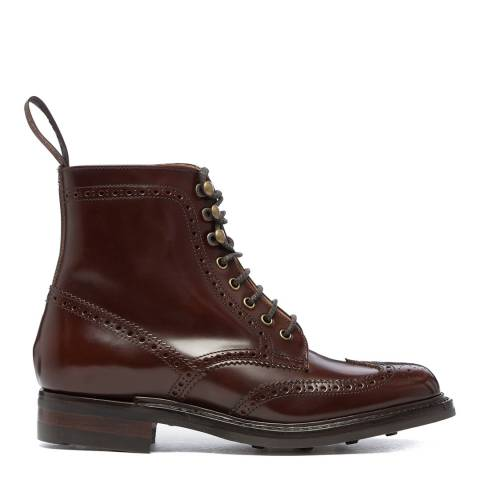 Joseph Cheaney & Sons Brown Olivia Brogue Country Boots