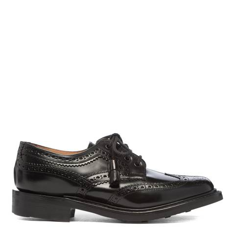 Joseph Cheaney & Sons Black Marianne Country Brogue Shoes