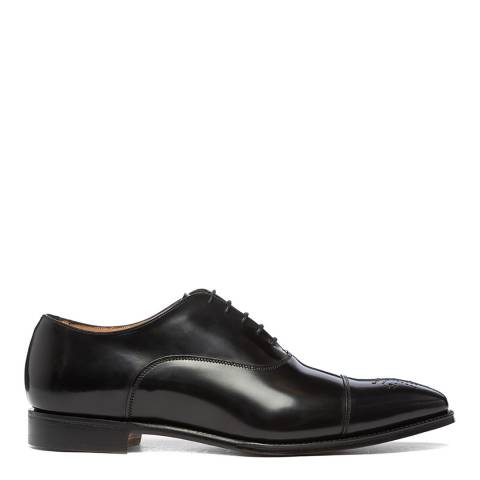 Joseph Cheaney & Sons Black Cambridge Narrow Toe Oxford Shoes