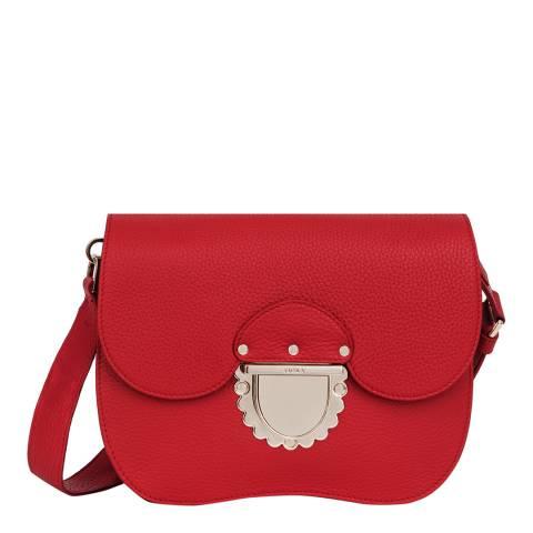 Furla Red Ducale Small Crossbody Bag