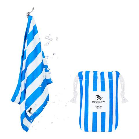 Dock & Bay Quick Cool Towel, Bondi Blue