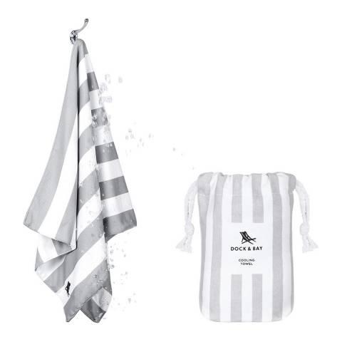 Dock & Bay Quick Cool Towel, Goa Grey