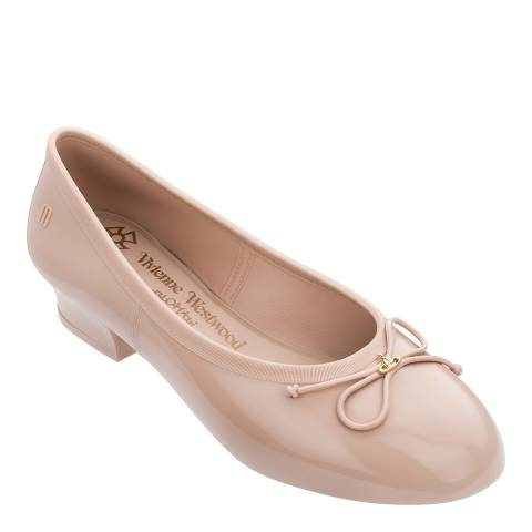 Vivienne Westwood for Melissa Nude VW Margot High Ballet Pump