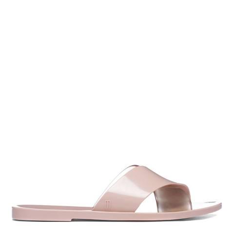 Melissa Blush Transparent Essential Slide Sandal