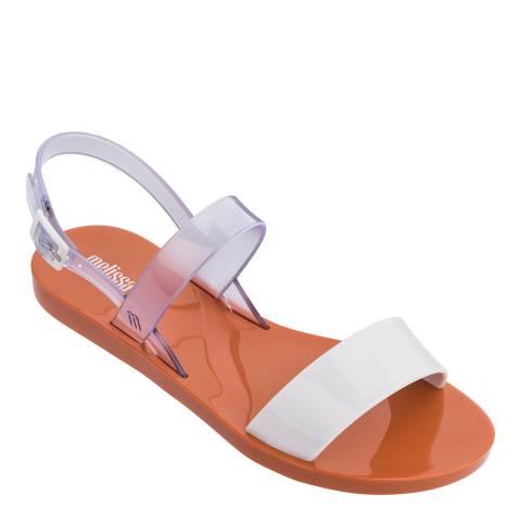 Melissa White Clear Lip Sandal