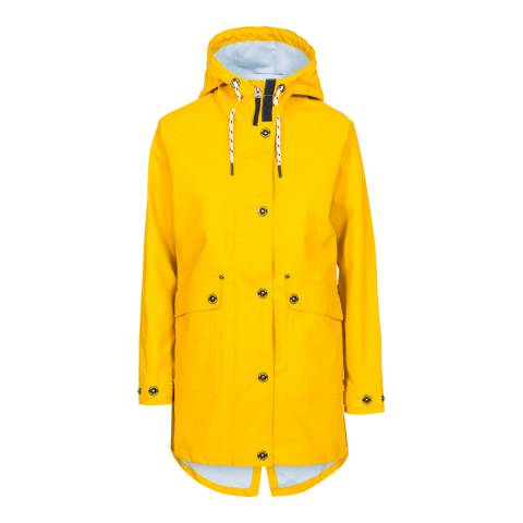Trespass Yellow Shoreline Waterproof Jacket