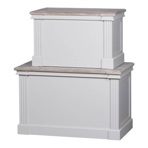 Hill Interiors The Liberty Collection Set Of Two Blanket Boxes