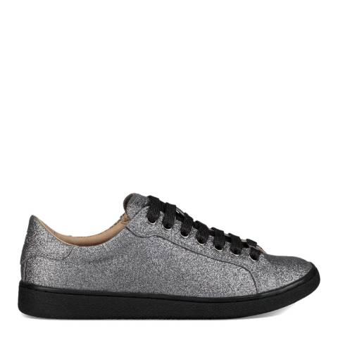 UGG Gunmetal Milo Glitter Sneakers