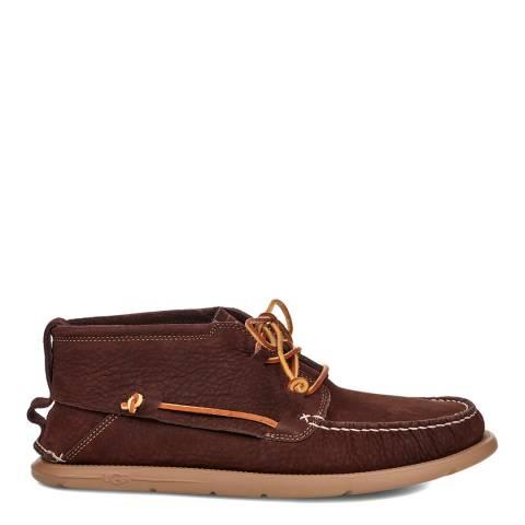 UGG Brown Beach Moc Chukka Shoes