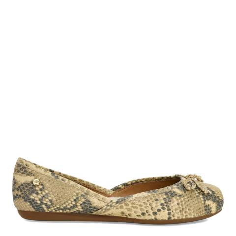 UGG Natural Lena Exotic Flats