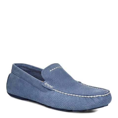 UGG Blue Henrick Stripe Perf Loafer