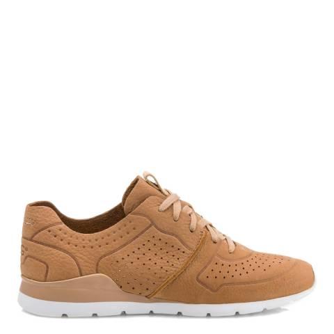 UGG Arroyo Beige Tye Sneakers