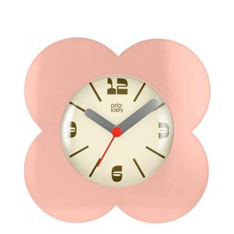 Orla Kiely Pink Flower Alarm Clock