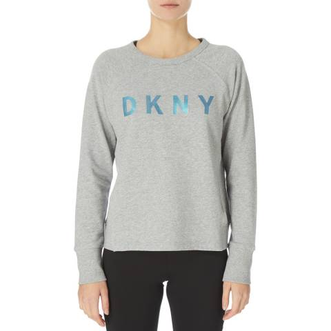 DKNY Grey Sweatshirt with Logo