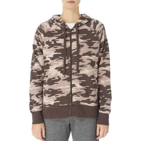 DKNY Multi Camel Zip Hoodie Jacket