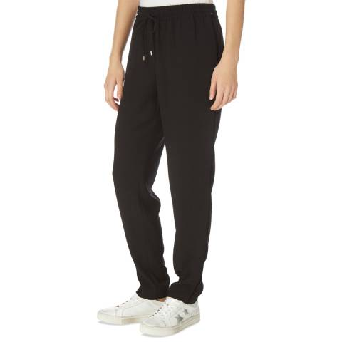 DKNY Black Draw String Trousers