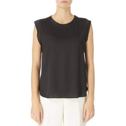 DKNY Black Foundation Flutter Shirt