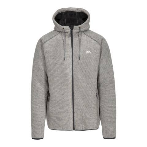 Trespass Grey Vetiver Fleece Top