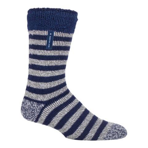 Heat Holders Grey Mens Lumi Sleep Socks