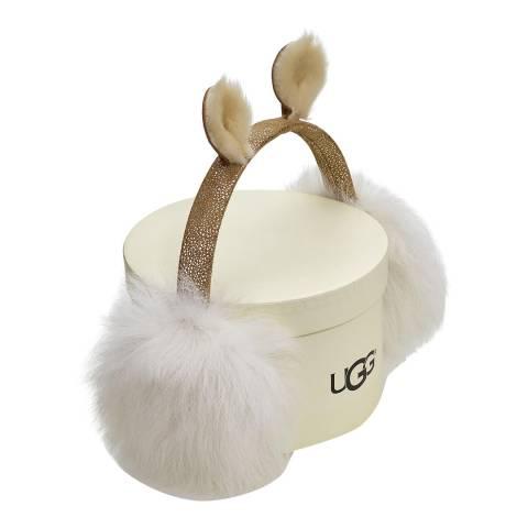UGG Kids Chestnut Fluff Squad Earmuff