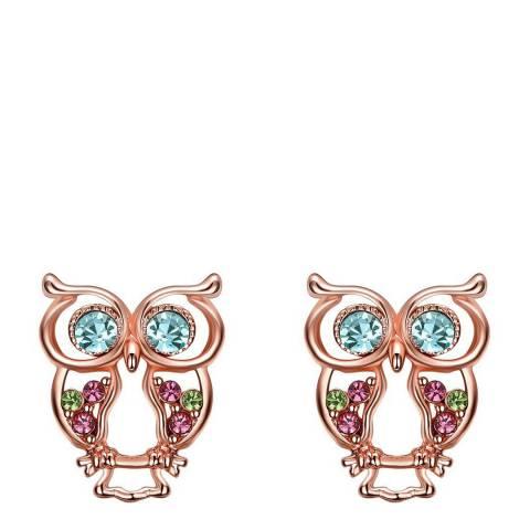Ma Petite Amie Swarovski Elements Rose Gold Rose Gold Earrings