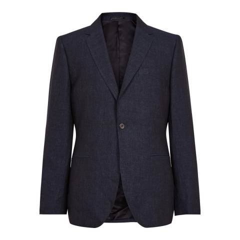 Reiss Navy Portofino Slim Suit Jacket