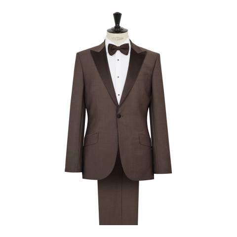 Reiss Brown Pacific Modern Suit