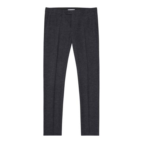 Reiss Navy Haven Tailored Trousers