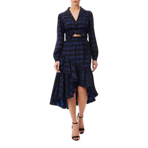 Temperley London Black/Navy Stirling Skirt