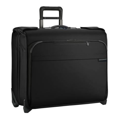 Briggs & Riley Black Deluxe Wheeled Garment Bag