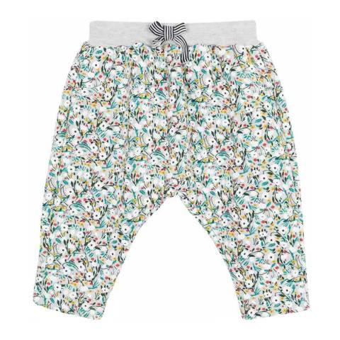 Petit Bateau Multi Printed Fleece Trousers