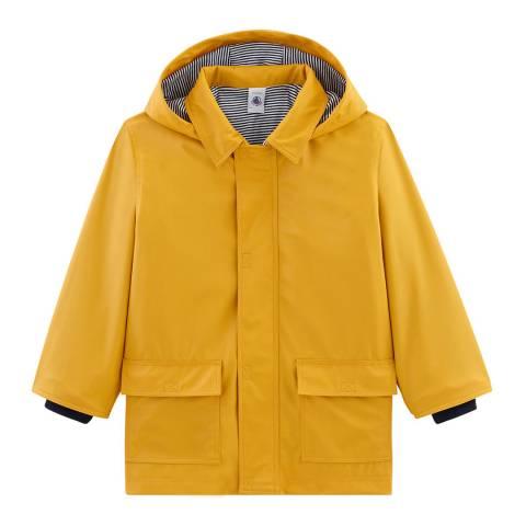 Petit Bateau Yellow Raincoat