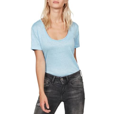 G-Star Blue Deep Scoop T-Shirt