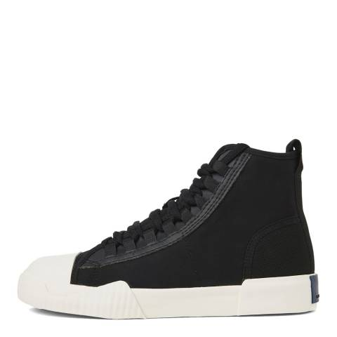 G-Star Black Rackam Scuba Mid Sneakers